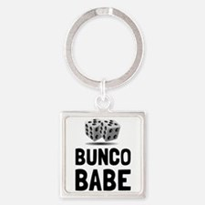 Bunco Babe Dice Keychains