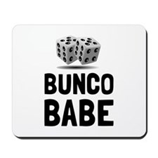 Bunco Babe Dice Mousepad