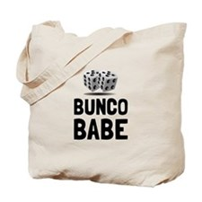 Bunco Babe Dice Tote Bag