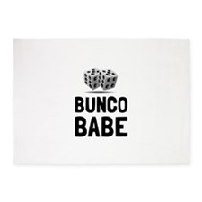 Bunco Babe Dice 5'x7'Area Rug