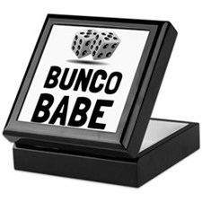 Bunco Babe Dice Keepsake Box