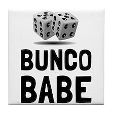 Bunco Babe Dice Tile Coaster