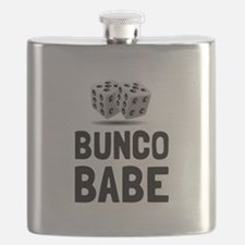 Bunco Babe Dice Flask