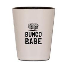 Bunco Babe Dice Shot Glass
