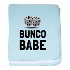 Bunco Babe Dice baby blanket