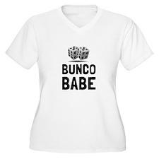 Bunco Babe Dice Plus Size T-Shirt