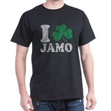 I Shamrock Jamo St Patricks Day T-Shirt