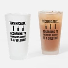 Chemistry Alcohol Solution Drinking Glass