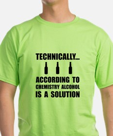 Chemistry Alcohol Solution T-Shirt