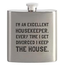 Divorced Housekeeper Flask