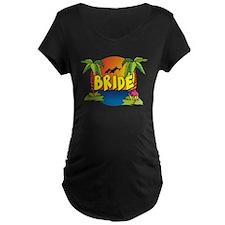 wp-tropical-brideB Maternity T-Shirt