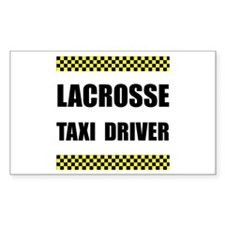 Lacrosse Taxi Driver Decal