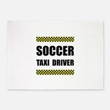 Soccer Taxi Driver 5'x7'Area Rug