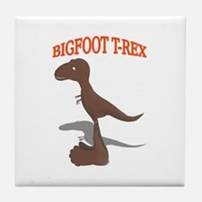 Bigfoot T-Rex Tile Coaster