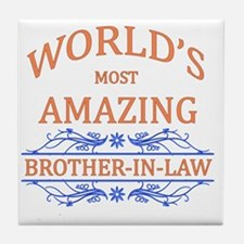 Brother-In-Law Tile Coaster