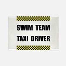 Swim Team Taxi Driver Magnets