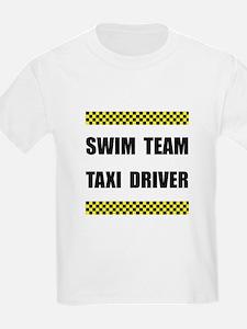 Swim Team Taxi Driver T-Shirt