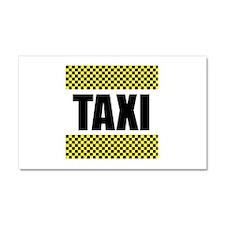 Taxi Cab Car Magnet 20 x 12