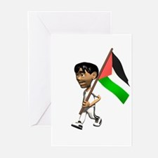 Palestine Boy Greeting Cards (Pk of 10)