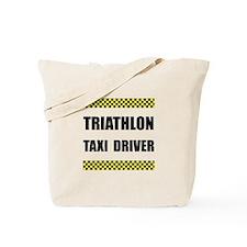Triathlon Taxi Driver Tote Bag