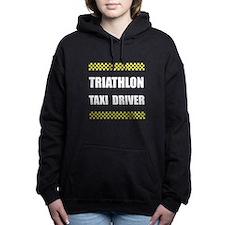 Triathlon Taxi Driver Women's Hooded Sweatshirt