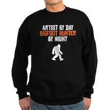 Artist By Day Bigfoot Hunter By Night Sweatshirt