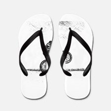 Wheelie Flip Flops