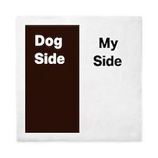 Dogs side my side 1 Queen Duvet