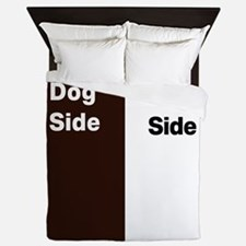 Dogs side my side 1 Queen Duvet