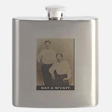 Cute Wyatt earp Flask