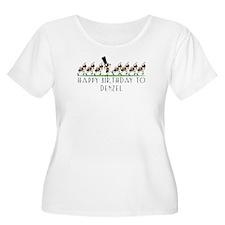 Happy Birthday Denzel (ants) T-Shirt