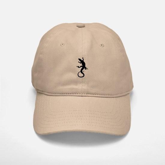Lizard Baseball Baseball Baseball Cap Lizard Art Caps & Hats