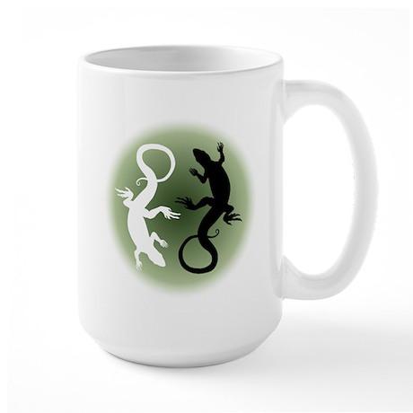 Lizard Gifts Large Mug Reptile Art Cups & Mugs
