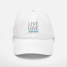 Live Love Obstetrics Baseball Baseball Cap