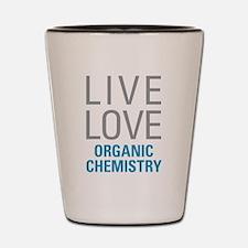 Organic Chemistry Shot Glass