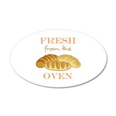 FRESH FROM THE OVEN Wall Decal