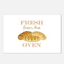 FRESH FROM THE OVEN Postcards (Package of 8)