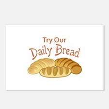 TRY OUR DAILY BREAD Postcards (Package of 8)