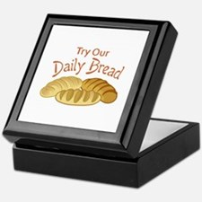 TRY OUR DAILY BREAD Keepsake Box