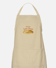 TRY OUR DAILY BREAD Apron