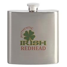 IRISH REDHEAD Flask
