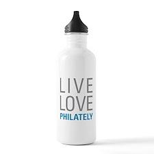 Philately Water Bottle