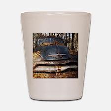 Sad Old Blue Chevy Shot Glass