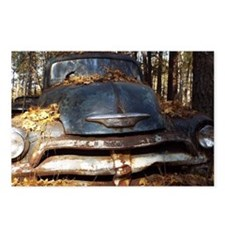 Sad Old Blue Chevy Postcards (Package of 8)
