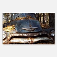 Sad Old Blue Chevy Decal