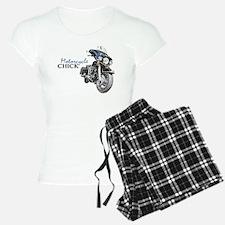 Chick Motorcycle Pajamas
