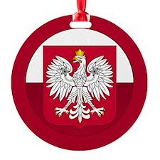 Poland Crest Ornament