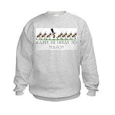 Happy Birthday Mason (ants) Sweatshirt