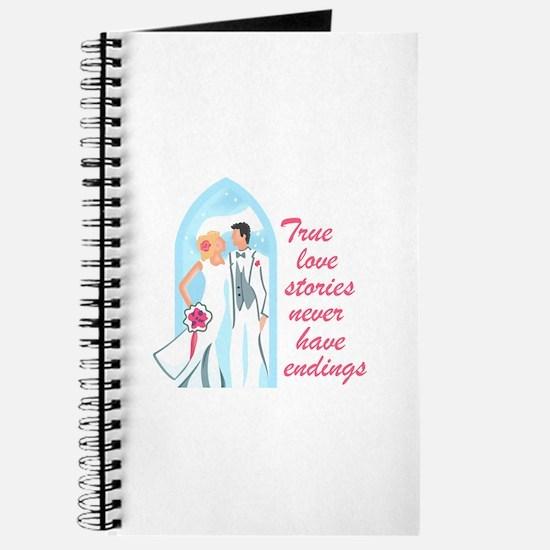 TRUE LOVE STORIES Journal