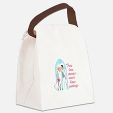 TRUE LOVE STORIES Canvas Lunch Bag
